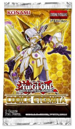 Yu-Gi-Oh! Codice Eternita'Prima Ed Busta