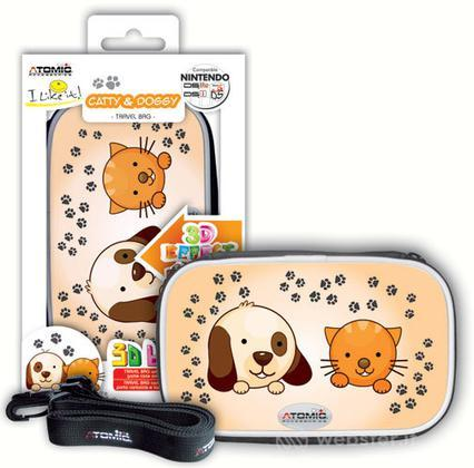 3DS Bag I Like It!Catty and Doggy Atomic