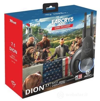 TRUST GXT 383 Dion Cuffie+Far Cry 5 Vouc