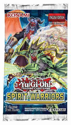 Yu-Gi-Oh! Spirit Warriors busta