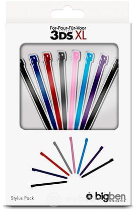 BB Stylus colorati Pack 8 pezzi 3DS XL