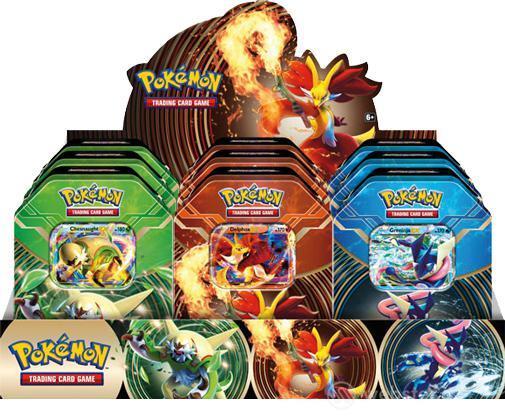 Pokemon Tin da Collez. Potere di Kalos