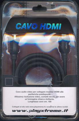 PS3 Cavo HDMI m. 1.80 contatti oro - XT