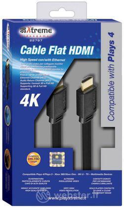 Cavo HDMI Flat 4K PS4