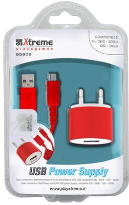 Carica Batterie USB 220V 3DS