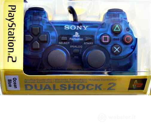 PS2 Sony Dual Shock - Blu