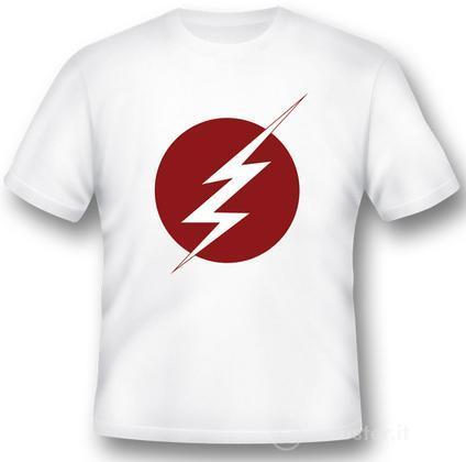 T-Shirt Flash Lightning Logo M