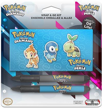 BD&A DS/NDS Lite Pen Sty. Wrap Pokemon