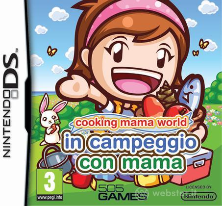 Cooking Mama World-Campeggio con Mama