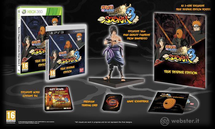 Naruto S. Ult Ninja Storm 3 TD Coll