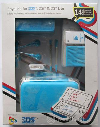 Kit 14 in 1 Royal Azzurro 3DS DSI DSLITE