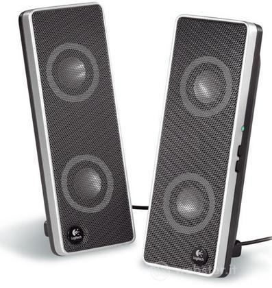 LOGITECH PC Speakers V-10 USB Laptop