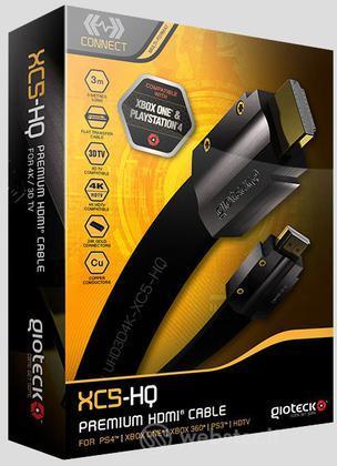 GIOTECK Cavo HDMI Premim XC5-HQ Univer.