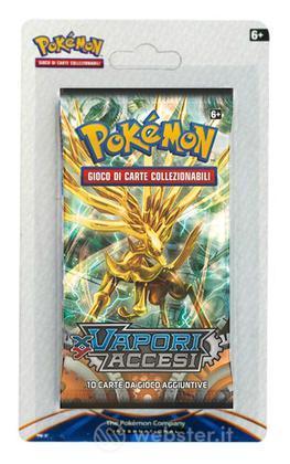 Pokemon Vapori Accesi busta Blister