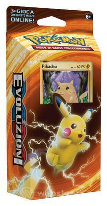 Pokemon XY Evoluzioni mazzo