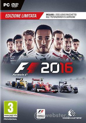 F1 2016 Limited Ed.