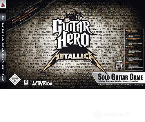 Guitar Hero Metallica Bundle