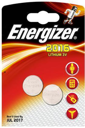 Pile Specialistiche Litio 2016 Energizer
