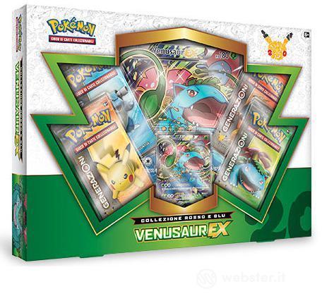 Pokemon Coll. Rosso e Blu - Venusaur EX