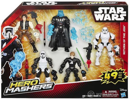 Figure S.Wars Hero Mashers Multi Pack