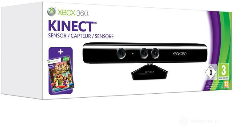 MICROSOFT X360 Kinect+Kinect Adventure