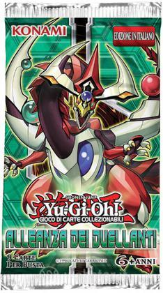 Yu-Gi-Oh! Alleanza dei duellanti busta