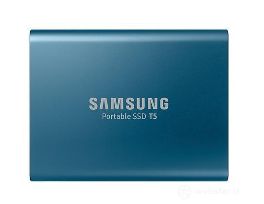 Samsung SSD T5 500GB Pt.Blu MU-PA500B/EU