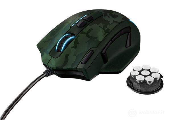 TRUST GXT 155C Gaming Mouse - Green