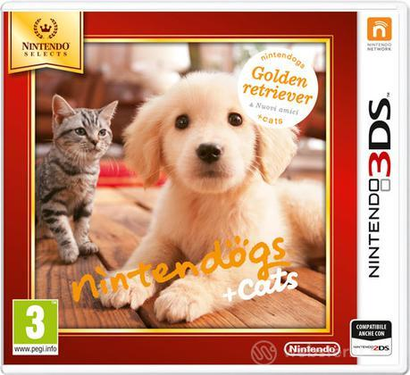 Nintendogs+Cats: Golden Retriver Select