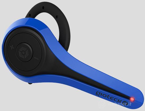 GIOTECK Auricolare Bluetooth LP1 Blu