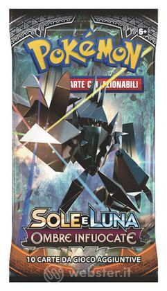 Pokemon Sole Luna Ombre Infuocate busta