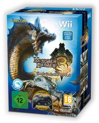 Monster Hunter Tri Classic Ctrl Pro Pack