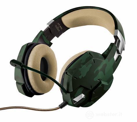 TRUST GXT 322C Cuffie Gaming - Green