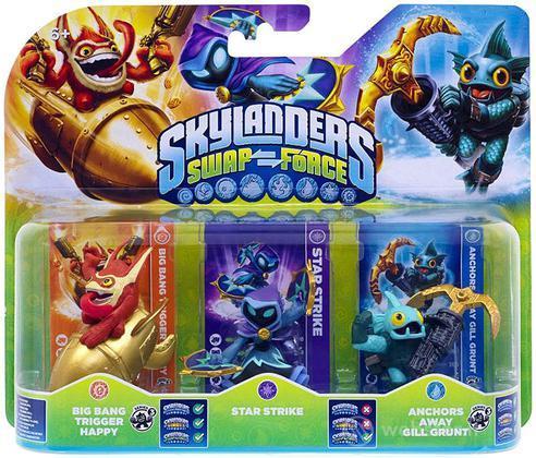 Skylanders Triple Pack C (SF)