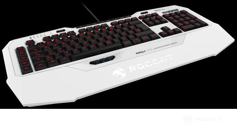 ROCCAT Keyboard Isku FX Bianco