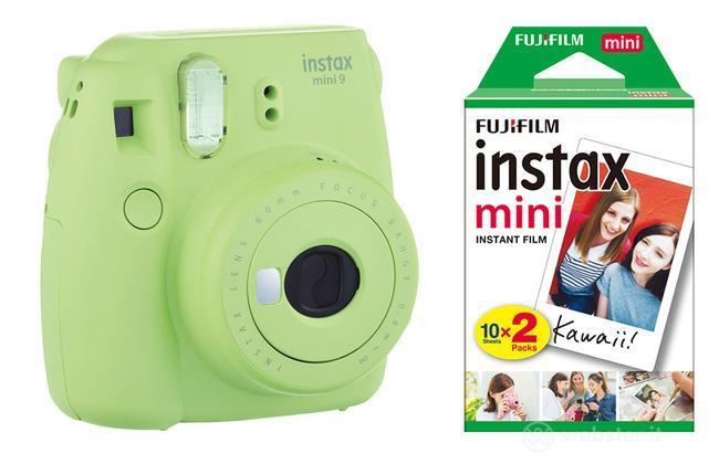 FUJIFILM Fotoc.Instax MINI9 LIME+20Shots