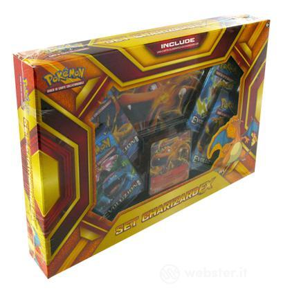 Pokemon Set Charizard- EX Fuocobomba