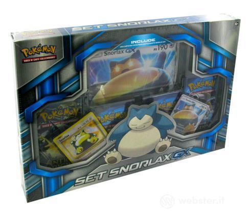 Pokemon Set Snorlax - GX