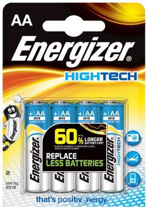Pile Stilo Alcaline Energizer High Tech