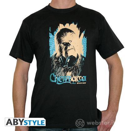 T-Shirt Star Wars-Chewbacca DJ Wookie L