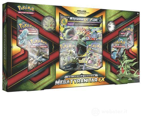 Pokemon Coll. Premium Mega Tyranitar-EX