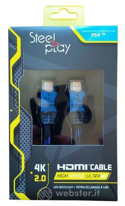 Steelplay 4K 2.0 HDMI Hspd UHD LedCab 2M