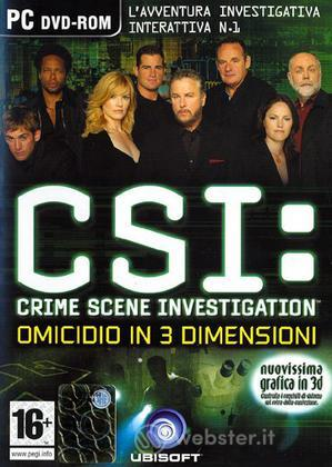 Crime Scene Investigation 3 Dimension of