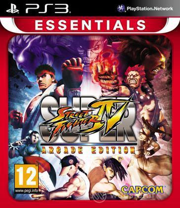 Essentials S. Street Fighter 4 Arcade Ed