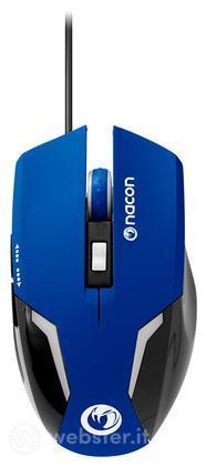 NACON Mouse Ottico 105 Blu PC