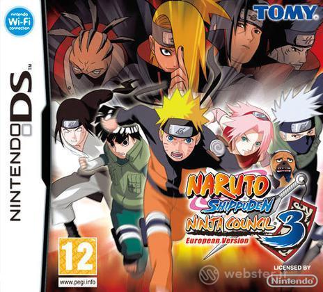 Naruto Shippuden Ninja Council 3 E. Ver.