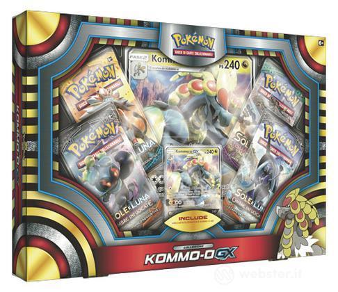 Pokemon Set Kommo-O- GX