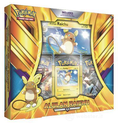 Pokemon Alolan Raichu Box