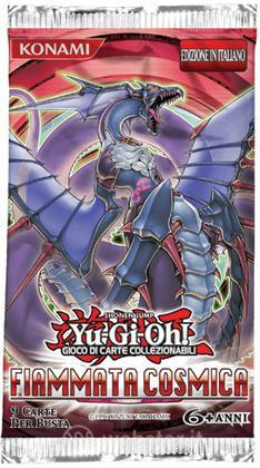 Yu-Gi-Oh! Fiammata Cosmica Busta