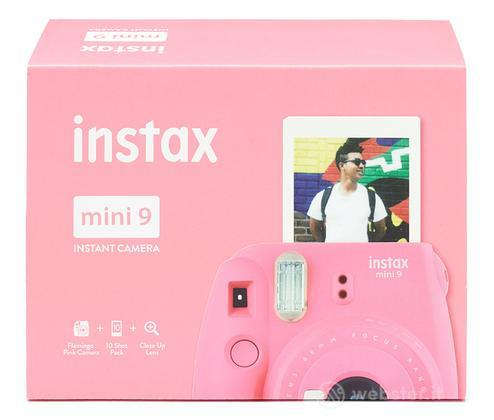FUJIFILM Fotoc.Instax MINI9 PINK+10Shots